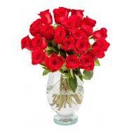 Buchet de trandafiri rosii Valentine's - http://www.floricudrag.ro/home/133-buchet-de-trandafiri-valentine-s.html