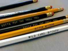 Always Sunny Inspired Funny Pencil 12 Pack by Earmark @Luvocracy |