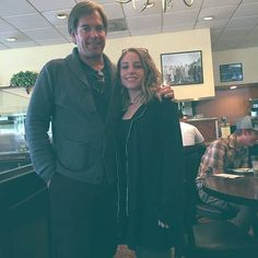 """alyssinmymind: """" ali.kaat Bumped into Michael Weatherly♡ """""""