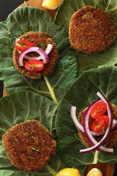 Veggie burgers and collard greens, yummy!  #vegetariancooking #veggieburgers #eatyourgreens.  See www.panaceacr.com