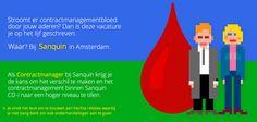 Stroomt er contractmanagementbloed door jouw aderen? Dan is deze vacature je op het lijf geschreven. Waar? Bij Sanquin in Amsterdam. https://www.epeople.nl/web/contractmanager-sanquin-amsterdam/?utm_source=pinterest&utm_medium=vacature&utm_campaign=sanquin
