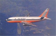 Pluna Boeing 737 - their first