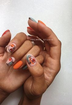 63 Cute nail designs for every nail length and season: Cute nails to try out Source ., # for nails designs # nail length Minimalist Nails, Cute Nails, Pretty Nails, Cute Short Nails, Short Nails Art, Cute Nail Art, Hair And Nails, My Nails, Nail Design Glitter