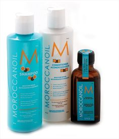 Moroccan Oil - Shampoo & Conditioner. Used for years - love!