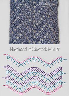 Best 12 Crochet: Chevron Lace Scarf Mehr – Page 176344141640016354 Punto Zig Zag Crochet, Crochet Lace Scarf, Plaid Crochet, Crochet Ripple, Crochet Diagram, Crochet Chart, Crochet Scarves, Crochet Motif, Lace Knitting