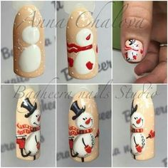 58 Trendy Nails New Years Holiday Nail Art Noel, Xmas Nails, New Year's Nails, Winter Nail Art, Christmas Nail Art, Holiday Nails, Winter Nails, Diy Nails, Cute Nails