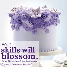 We're excited to announce the NEW Wilton Method® Course 2: Flowers & Cake Design. You'll learn how to design a professional-looking cake, from selecting the colors to arranging your flowers. Learn more about the techniques taught in class and find a class near you!