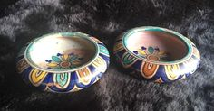 2 Early 20th Century Small Safi Morrocan Art Pottery Bowls/Ashtrays  | eBay