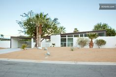 Alexander AirBnB rental, Palm Springs...some mid century modern homes are pretty inexpensive for weekend rentals or events.
