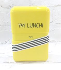 Happy Jackson 'Yay Lunch' Lunch Box