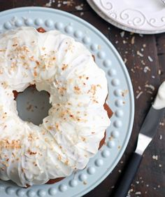Incredibly moist, dense, and unbelievably good, this Coconut Bundt Cake is out of this world good and will completely knock your socks off. This is the best coconut cake I've ever eaten! Cupcakes, Cupcake Cakes, Just Desserts, Delicious Desserts, Easter Desserts, Cake Recipes, Dessert Recipes, Homemade Birthday Cakes, Bunt Cakes