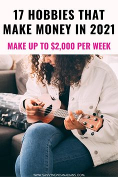 Here are 17 best hobbies to make money from the comfort of your home, Click to see this list of profitable hobbies now! #moneymakinghobbies #hobbiesthatmakemoney #workfromhomecareers #sidehustleideas #makemoneyonlinefast #makemoney #craftsideas #makemoneyfromhome #workfromhome #momjobs Make Money Fast Online, Hobbies That Make Money, Earn Money From Home, Make Money Blogging, Money Tips, Way To Make Money, How To Make, Work From Home Careers, Budgeting Money