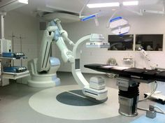 Hybrid Operating Room at Massachusetts General, with Siemens Zeego system and Trumpf surgical lights