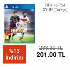 #FIFA 16 PS4 OYUN (Türkçe)  http://www.modahan.net/hobi-oyun-konsolları-konsol-oyun-oyun-aksesuarları-k-24/oyun-konsollari-k-384/fifa-16-ps4-oyun-u-119252.html