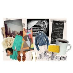A Day in the City.., created by sue-evelyn-ashleniq on Polyvore