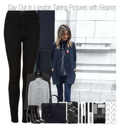 """Day Out in London Taking Pictures wit Eleanor"" by elise-22 ❤ liked on Polyvore featuring Topshop, Isabel Marant, Yves Saint Laurent, Tom Ford, MAC Cosmetics, shu uemura, NARS Cosmetics, Wet n Wild and ASOS"