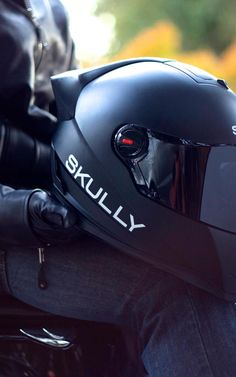 The Google Glass of #Motorcycle #Helmets? -- Marcus Weller has designed an Android-powered helmet that could be an industry game changer. -- #SkullyHelmets