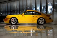 #auctionfeed #pomo Porsche Exclusive made only 86 examples of the '92 376 hp 964 Turbo S Leichtbau.