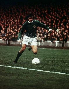George Best of Northern Ireland in 1969.
