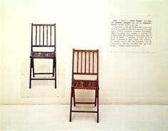 One and Three Chairs - Joseph Kosuth