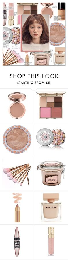 """""""Time To Study : Natural Beauty"""" by nindi-wijaya ❤ liked on Polyvore featuring beauty, Stila, Charlotte Russe, Guerlain, Narciso Rodriguez, Maybelline, Smith & Cult and Armani Beauty"""