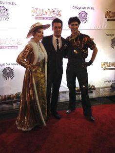 "Nick Pitera at the red carpet premiere of Cirque du Soleil ""Kurios"" in San Francisco. ❤️"