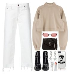 """Gigi"" by daniielar ❤ liked on Polyvore featuring Simon Miller, Prada, Chanel and Yves Saint Laurent"