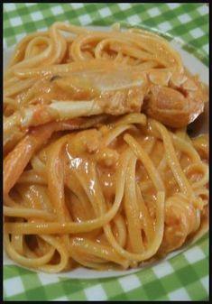 Linguine agli scampi , facili e gustosi ! #scampi #primipiatti #primidipesce #ricettegustose Italian Pasta, Italian Dishes, Italian Recipes, Fish Pasta, Maila, International Recipes, I Love Food, Pasta Dishes, Pasta Recipes