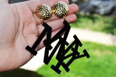 NY Earring Large Beautiful Vintage Jewelry for women #ER 7 by eventsmatters on Etsy