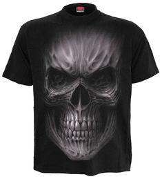Death rage - T-shirt homme - Crâne gothique - Spiral vêtement