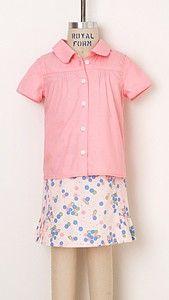 digital music class blouse + skirt sewing pattern