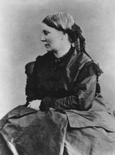 Elizabeth Blackwell, the first US woman to become a doctor.  I studied this woman in the 1980s as I worked on a minor in Women's Studies.  I admire her greatly.  What a great woman she was! Thanks for trail blazing.