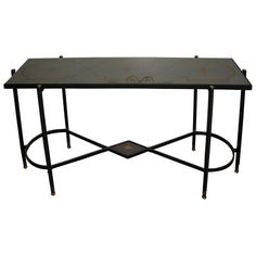1950s Console Table by Jacques Adnet