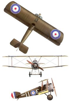 1914 - 1918 The Great War  Sopwith Camel