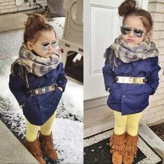 Girl fashion - this girl is just too cute!