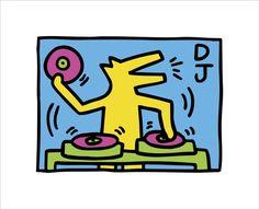 Keith Haring Kids, Keith Haring Shirt, Keith Haring Prints, Keith Haring Poster, Principles Of Art Balance, Balance Art, Artwork Prints, Fine Art Prints, Haring Art