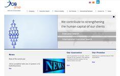 Nombre del proyecto: Diseño y desarrollo de sitio web JobLine  Estado a la fecha: Implementado y Funcionando  Descripción del proyecto: Diseño y desarrollo de sitio web en plataforma Joomla, permite acceder rápidamente a toda la información corporativa.