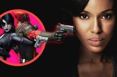 Deadpool 2: Kerry Washington disse estar fazendo testes para o filme