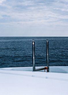 romainbjames:  That David Hockney feeling on the Ocean Paradise yacht, Monaco