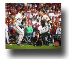 Brian Wilson Signed San Francisco Giants 2010 World Series 16x20 Photo MLB HOLO
