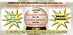 """""""My Fortune Says I'm Gonna Be a Cover Dog!"""""""