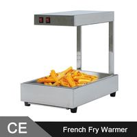Commercial Use Electric Stainless Steel Churros French Chip Fry Warmer Displayer