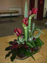 Risultati immagini per compo florale avec anthuriums