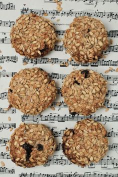 Our Friday morning baking. Apple + Cinnamon Breakfast Cookie : The Healthy Chef – Teresa Cutter Breakfast Cookie Recipe, Cookie Recipes, Snack Recipes, Apple Breakfast, Breakfast Meals, Breakfast Options, Free Breakfast, Chef Recipes, Breakfast Time