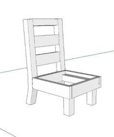 Bon Free DIY Furniture Plans: How To Build A Toddler Sized Slipper Chair | The  Design Confidential | Diy | Pinterest | Diy Furniture Plans, Slipper Chairs  And ...