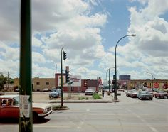 © Stephen Shore, from series Uncommon Places: Victoria Avenue and Albert St., Regina, Sasketchewan, 17/8/1974