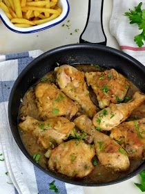 Pollo alla birra, in 30 minuti - Recetas yolanda - Pollo Mexican Food Recipes, Snack Recipes, Cooking Recipes, Ethnic Recipes, Easy Smoothie Recipes, Good Healthy Recipes, Beer Chicken, Chicken Recipes, Spanish Dishes