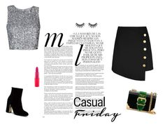"""party outfit"" by justlayla17 on Polyvore featuring mode, Whiteley en Prada"