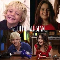 Ross and Laura then and now