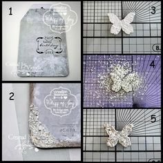 Whiff of Joy - Tutorials & Inspiration: A Tag using #Frantage #Embossing Enamel from #Stampendous